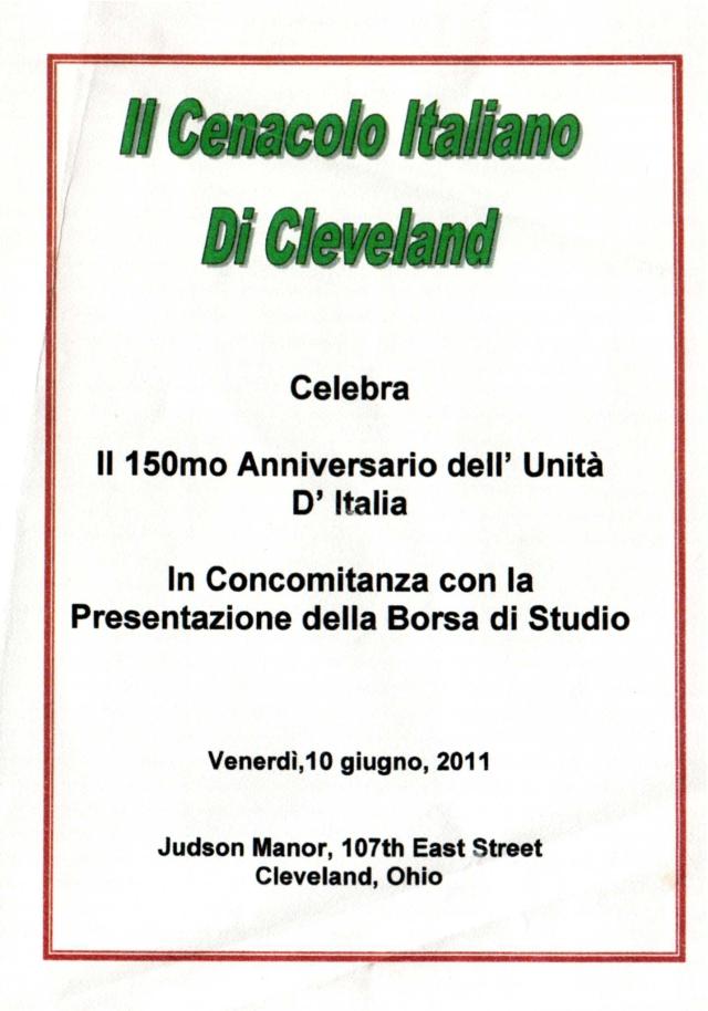 Il 150mo Anniversario dell' Unità D'Italia